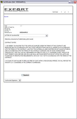 Customs Pro Forma Invoice | Air Waybill | Dock Receipt ...