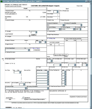 Customs Pro Forma Invoice | Air Waybill | Dock Receipt | Fedex