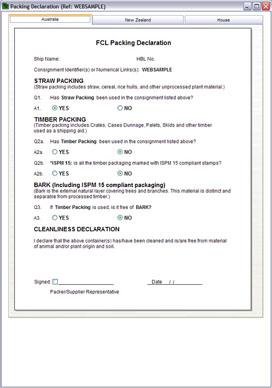 Fedex International Air Waybill Instructions